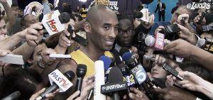 """Kobe Bryant: """"Es un reto cada noche, día a día"""""""