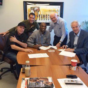 Kobe Bryant Signed, Sealed, and Delivered