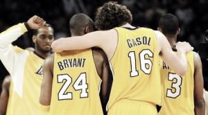 """Kobe Bryant: """"Los fans de los Lakers no han sabido apreciar a Pau"""""""