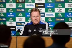 Ronald Koeman recognises significance of the Merseyside Derby