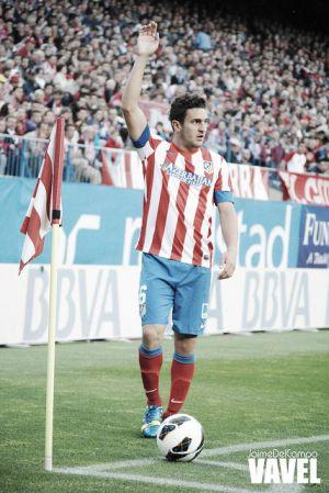 Koke empata con Simeone en partidos con el Atlético de Madrid