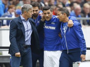 Kolasinac faces six-month lay off after ligament tear