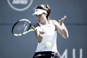 WTA Rogers Cup: Johanna Konta storms past Victoria Azarenka in straight sets