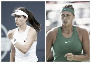 WTA Cincinnati first round preview: Johanna Konta vs Aryna Sabalenka