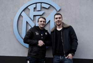 Lukas Podolski Nerazzurro pour les six prochains mois