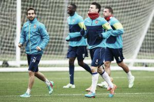 Koscielny returns to Arsenal training ahead of Dortmund clash