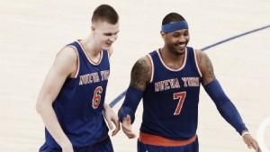 "Nba, Carmelo Anthony: ""Troppa pressione su Porzingis"""