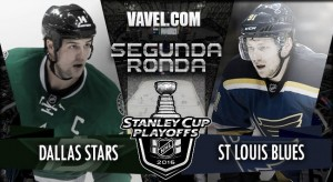Dallas Stars - St. Louis Blues: choque de pesos pesados en la Conferencia Oeste