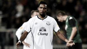 Eto'o y Lukaku descongelan al Everton