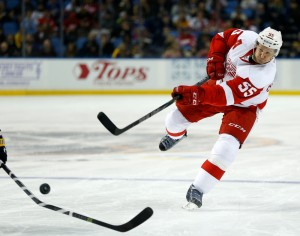 Kronwall Returns As Red Wings Head Home To Face The Blue Jackets