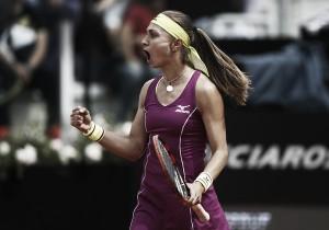 WTA Rome: Roberta Vinci plays her last professional match as Aleksandra Krunic triumphs in three sets