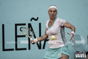 """Svetlana Kuznetsova: """"He jugado bastante bien, de forma muy agresiva"""""""
