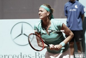 Lara Arruabarrena sucumbe ante una gran Petra Kvitova