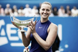 WTA Birmingham: Petra Kvitova captures first title after return from injury