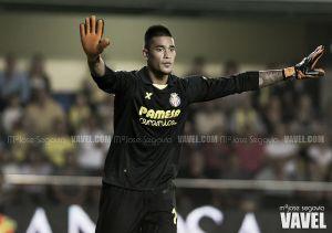 Areola, mejor jugador del Villarreal en septiembre