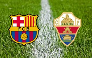 Barcelona vs Elche Live Stream and Football Scores of La Liga 2014