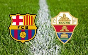 Barcelona vs Elche Live Stream and Football Scores of La Liga 2014