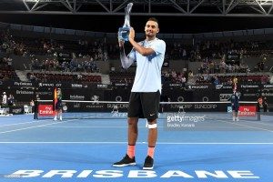 Brisbane 2018: Kyrgios defeats Harrison to win first title on home turf
