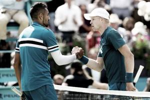 Em jogo equilibrado,Kyrgios passa por Edmund e elimina mais um tenista da casa em Queen's