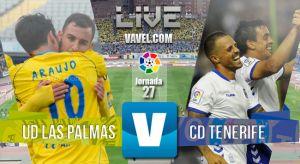 UD Las Palmas - CD Tenerife en vivo y en directo online
