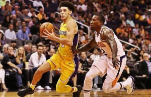 NBA- Lonzo Ball si rialza e accende i Lakers