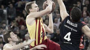 Laboral Kutxa - FC Barcelona: última oportunidad de subirse al tren de la Euroliga en el Buesa Arena