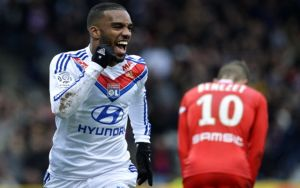Lacazette signs new two-year deal with Lyon
