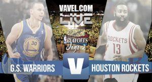 Resultado Golden State Warriors vs Houston Rockets Playoffs NBA 2015 (99-98)
