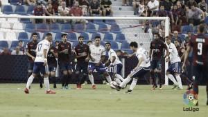 Levante UD – Real Zaragoza: puntuaciones del Real Zaragoza, jornada 4