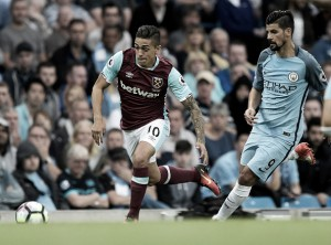 Manuel Lanzini grateful for the support from West Ham fans