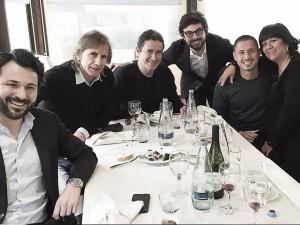 Ricardo Gareca se reunió con Gianluca Lapadula