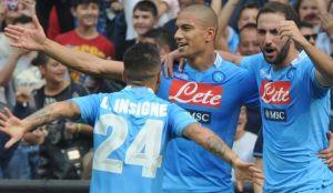 El Napoli gana desde los once metros