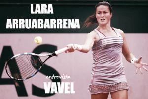 """Entrevista. Lara Arruabarrena: """"Ha sido una temporada un poco irregular"""""""