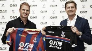 Frank de Boer, nuevo entrenador del Crystal Palace