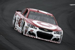 Martin Truex Jr. wins pole for Overton's 301 after Kyle Larson's time disqualified