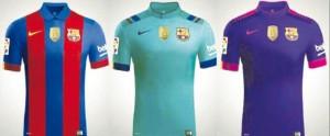 Nike fabrica las nuevas equipaciones del Barcelona sin publicidad