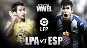 Previa UD Las Palmas - RCD Espanyol: una victoria para alcanzar la permanencia