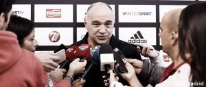 """Pablo Laso: """"Estrella Roja es un equipo con calidad"""""""
