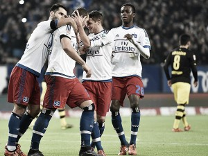 Hamburger SV 3-1 Borussia Dortmund: BVB wake up too late after poor first hour