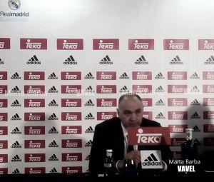 """Laso: """"Estoy contento porque por fin ha participado todo el equipo"""""""