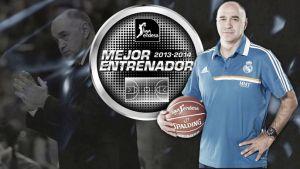 Pablo Laso, Mejor Entrenador ACB 2013-2014