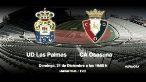 Las Palmas - Osasuna: un reto de altos vuelos