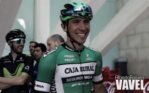 """Jonathan Lastra: """"Estoy a gusto en Caja Rural, es un equipo en el que se puede trabajar bien"""""""