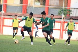 Hadapi Turnamen Segitiga, Timnas U-19 Latihan di Lapangan ABC Senayan