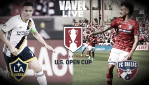 Summary Los Angeles Galaxy 2-0 FC Dallas in 2016 Lamar Hunt U.S. Open Cup Semifinal