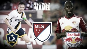 Two cross-country rivals in Los Angeles Galaxy and New York Red Bulls
