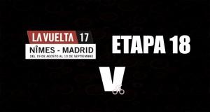 Sander Armee se quedó con la etapa 18 de la Vuelta a España