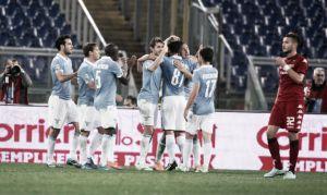 Lazio, si vola a Cagliari con l'obiettivo secondo posto