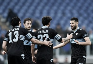 Secondo tempo stellare per la Lazio, che stende il Chievo Verona con un poker