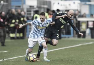 Serie A: la Spal pareggia al 90' con Paloschi, 1-1 con l'Inter